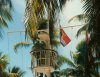 Kiribati - Tarawa - Bairiki: Kiribati flag at the Marine  (photo by G.Frysinger)