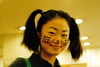 Asia - South Korea - Halloween - smiling Korean girl - photo by S.Lapides