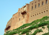 Erbil / Hewler, Kurdistan, Iraq: Erbil Citadel built on the edge of the plateau - Qelay Hewlêr - UNESCO world heritage site - photo by M.Torres