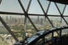 Kuwait city: skyline and Kuwait Towers observation deck - photo by M.Torres