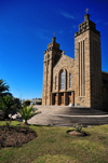 Maseru, Lesotho: Our Lady of Victory Cathedral seen from the garden - photo by M.Torres