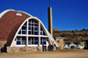 Maseru, Lesotho: the igloo shaped Lesotho Evangelical Church - photo by M.Torres