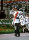 National day military parade - soldiers, Kuala Lumpur, Malaysia - photo by B.Lendrum
