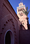 Morocco / Maroc - Marrakesh / Marrakech: minaret (photo by F.Rigaud)