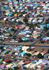 Namibia: Aerial View of Windhoek, Khomas Region - photo by B.Cain