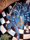 Netherlands / Holland  - Amsterdam: Masonic graffiti (photo by M.Torres)