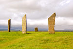 Orkney island, Mainland- Standing Stones of Stenness - henge monument - photo by Carlton McEachern