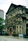 Philippines - Manila: Spanish town - church façade - photo by M.Torres