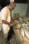 Rodrigues: Ton Roland preparing delicious Rodriguan food - photo by G.Soobraydoo