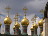 Russia - Moscow: Domes of the Upper Saviour Cathedral - photo by J.Kaman