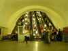 Russia - Moscow: escalators - Underground / Metro / Subway - photo by J.Kaman