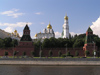 Russia - Moscow: Kremlin behind Moskva river - photo by J.Kaman