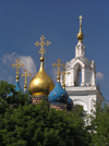 Russia - Moscow: Onion domes of Orthodox church - photo by J.Kaman