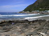 Victoria Bay / Victoriabaai, Eden District, Western Cape, South Africa: the waves make this small cove popular with the surf crowd - Garden Route - photo by D.Steppuhn
