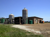 Vergaderingskraal, Eastern Cape, South Africa: farm buildings and silos - the Boers keep the show running - Garden Route - photo by D.Steppuhn