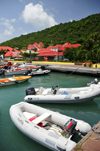 Gustavia, St. Barts / Saint-Barthélemy: Caribe inflatable boats - photo by M.Torres