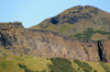 Scotland - Edinburgh: Arthur's Seat, an extinct volcano, sits in the middle ofthe City - photo by C.McEachern