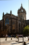 Scotland - Edinburgh: Saint Giles Cathedral, High Street - The Royal Mile - photo by C.McEachern
