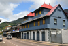 Mahe, Seychelles: Victoria - Creole buildings on Albert street - photo by M.Torres