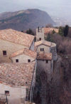 San Marino: edges and roofs - Unesco world heritage site - photo by M.Torres