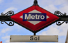 Madrid, Spain / España: metro sign - Sol station - Puerta del Sol - photo by M.Torres
