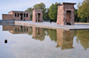 Spain / España - Madrid: Egyptian temple of Debod, brought from Aswan - built by Pharaoh Zakheramon - Parque del Oeste - photo by M.Torres