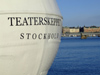 Sweden - Stockholm: stern of MS Teaterskeppet - corporate events boat (photo by M.Bergsma)