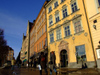 Sweden - Stockholm: façades of the old town - Gamla Stan (photo by M.Bergsma)