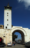 Syria - Damascus: Roman eastern gates - Bab ash Sharqi - start of the Via Recta - street called straight - photographer: M.Torres