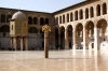 Damascus: Omayyad Mosque - inner court - iwan II - Ancient City of Damascus - Unesco World heritage site (photographer: John Wreford)