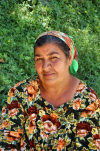 Tajikistan - Dushanbe: woman in her 50s - photo by A.Nilsson