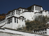 Tibet - Lhasa: climbing to Potala Palace, now a museum - photo by M.Samper