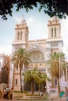 Tunisia - Tunis: Catholic Cathedral of Saint Vincent (photo by Miguel Torres)