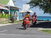Vaiaku, Fongafale island, Funafuti atoll, Tuvalu: motorbikes are everywhere - photo by G.Frysinger