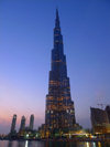 Dubai, UAE: Burj Dubai - tallest building in the world - structural engineer Bill Baker, architect Adrian Smith - Sheikh Zayed Road - photo by J.Kaman