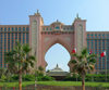 Jumeirah, Dubai, UAE: Hotel Atlantis, the Palm, resort on the an manmade island of Palm Jumeirah - WATG architects - photo by J.Kaman