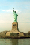 New York, USA: Statue of Liberty - still asking for a ride back to Europe - Unesco world heritage site - photo by M.Torres