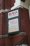 Nashville (Tennessee): Ryman hall -  the Mother Church of Country Music - photo by M.Schwartz