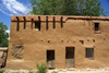 Santa Fé, New Mexico, USA: Sante Fé's oldest house (1646), claimed to be also the oldest in the United States of America built by Europeans - E De Vargas St, Barrio De Analco Historic District - photo by A.Ferrari