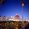San Diego (California): Hotel del Coronado, site of many motion pictures - photo by J.Fekete
