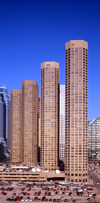 Chicago, Illinois, USA: Presidential Towers - South Des Plaines Street, Near West Side, Downtown - architects Solomon, Cordwell, Buenz and Associates - photo by A.Bartel
