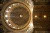 Vatican City, Rome - inside Saint Peters Basilica - dome by Giacomo della Porta and Fontana - photo by I.Middleton