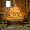 Vatican - St Peter's Basilica: Michelangelo's Pietà - Our Lady of Sorrows - photo by W.Allgower