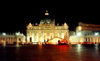 Holy See - Vatican - Rome - St. Peter's square - around midnight - Unesco world heritage site (photo by Miguel Torres)
