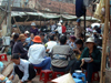 Hanoi / Ha Noi - vietnam: lunch break - outside Don Xuan market - photo by Robert Ziff
