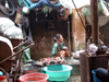 Hanoi - vietnam: woman selling fish - photo by Robert Ziff