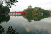 Hanoi - vietnam - Hoan Kiem Lake - Huc Bridge to Jade Island - photo by Tran Thai