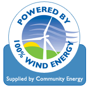 eco-friendly site, powered by wind energy - renewable energy
