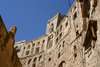 Hababah, Sana'a governorate, Yemen: houses at the water reservoir - photo by E.Andersen