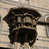 Yemen - Sana'a: women's oriel window - former East-German embassy - old city - UNESCO World Heritage Site - photo by W.Allgower